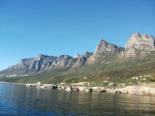A small part of Table Mountain